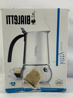 Bialetti Kitty Coffee Maker, Stainless Steel -