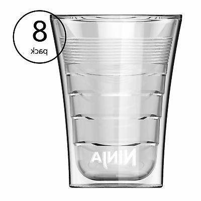 14 oz microwave safe plastic double insulated