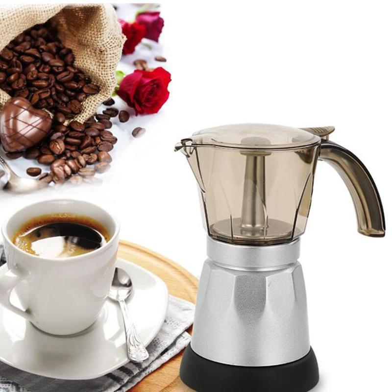 150 300ml portable electric coffee machine stainless
