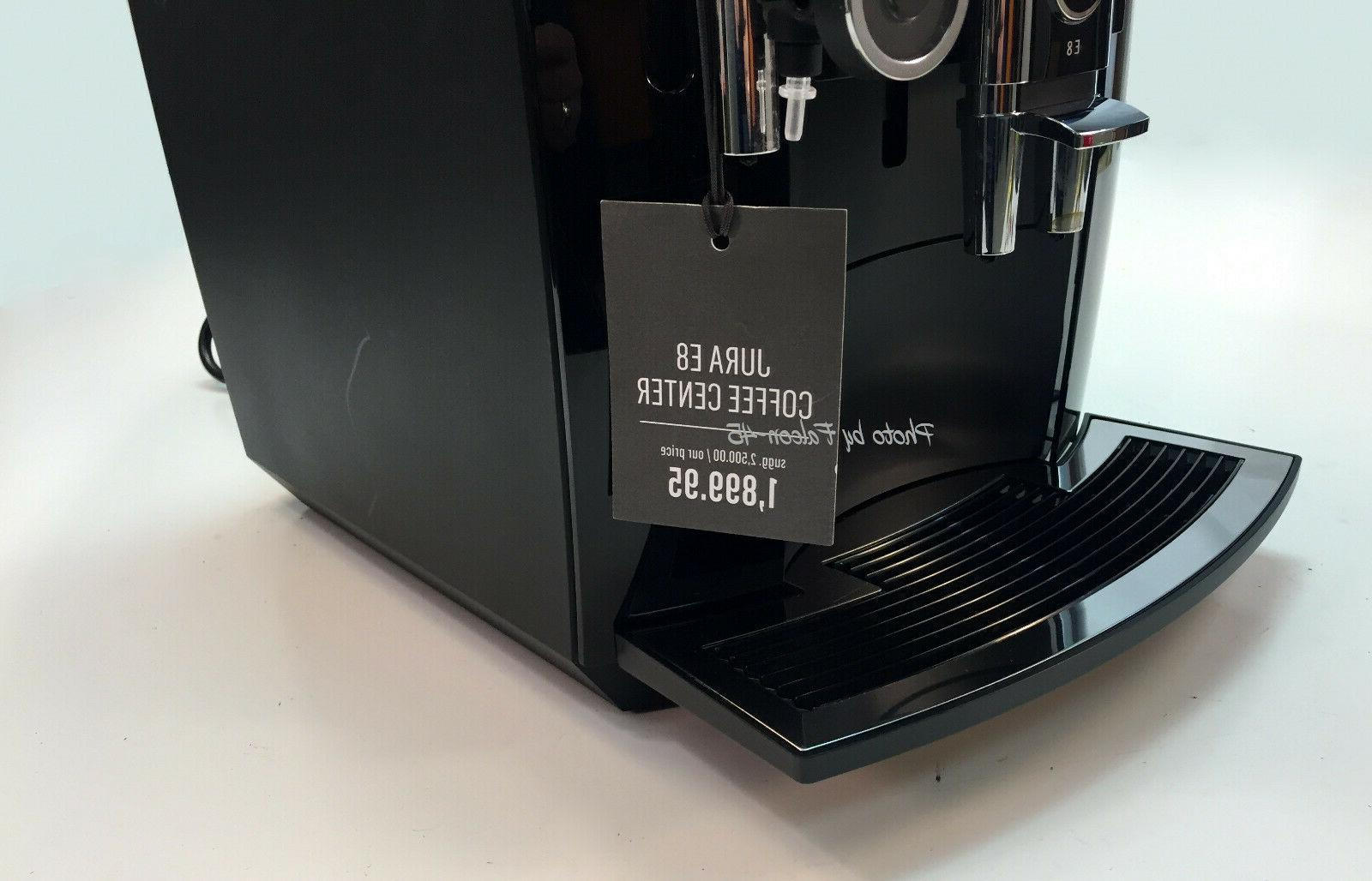Jura E8 Automatic Coffee Pulp