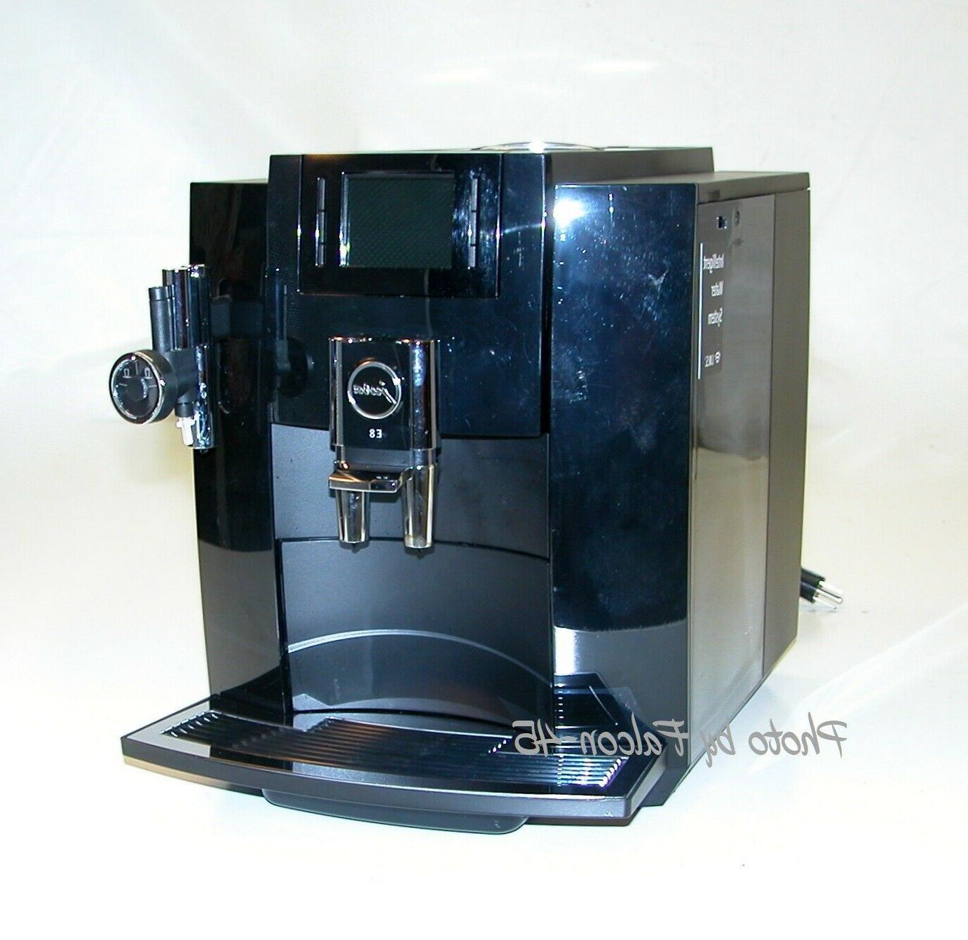 15109 e8 super automatic espresso coffee machine