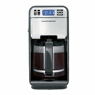 46205 12 cup programmable coffee maker stainless