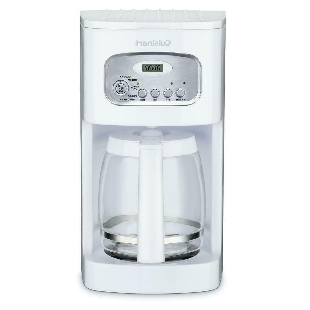 Cuisinart - Self-clean Programmable Brewer - 12 Cup - White