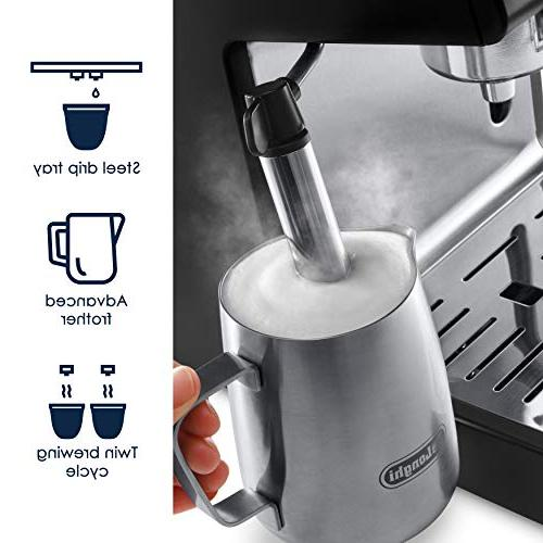 "De'Longhi Espresso and 15"" Black"