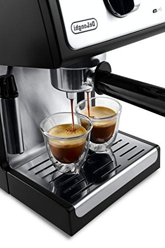 "De'Longhi ECP3420 Bar Pump Espresso and Cappuccino 15"" Black"