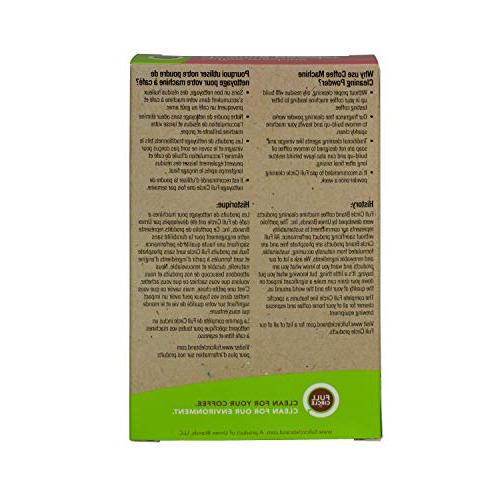 Full Cleaner - Packets - Keurig Delonghi Hamilton Braun and More