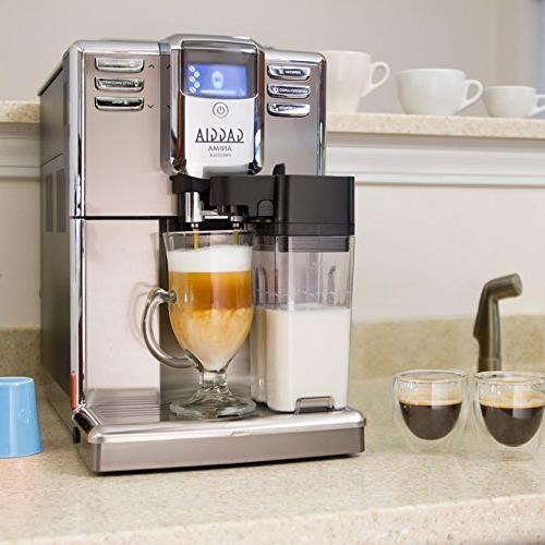 Gaggia Anima Coffee Machine, Automatic Frothing Cappuccino with Programmable Options