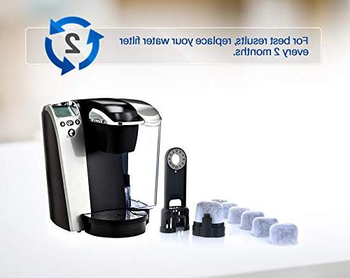 K&J Replacement Charcoal Water Filters Compatible - Universal Keurig Coffee Machines