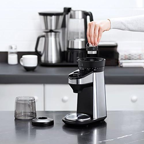 OXO Conical Coffee Grinder with Integrated Scale
