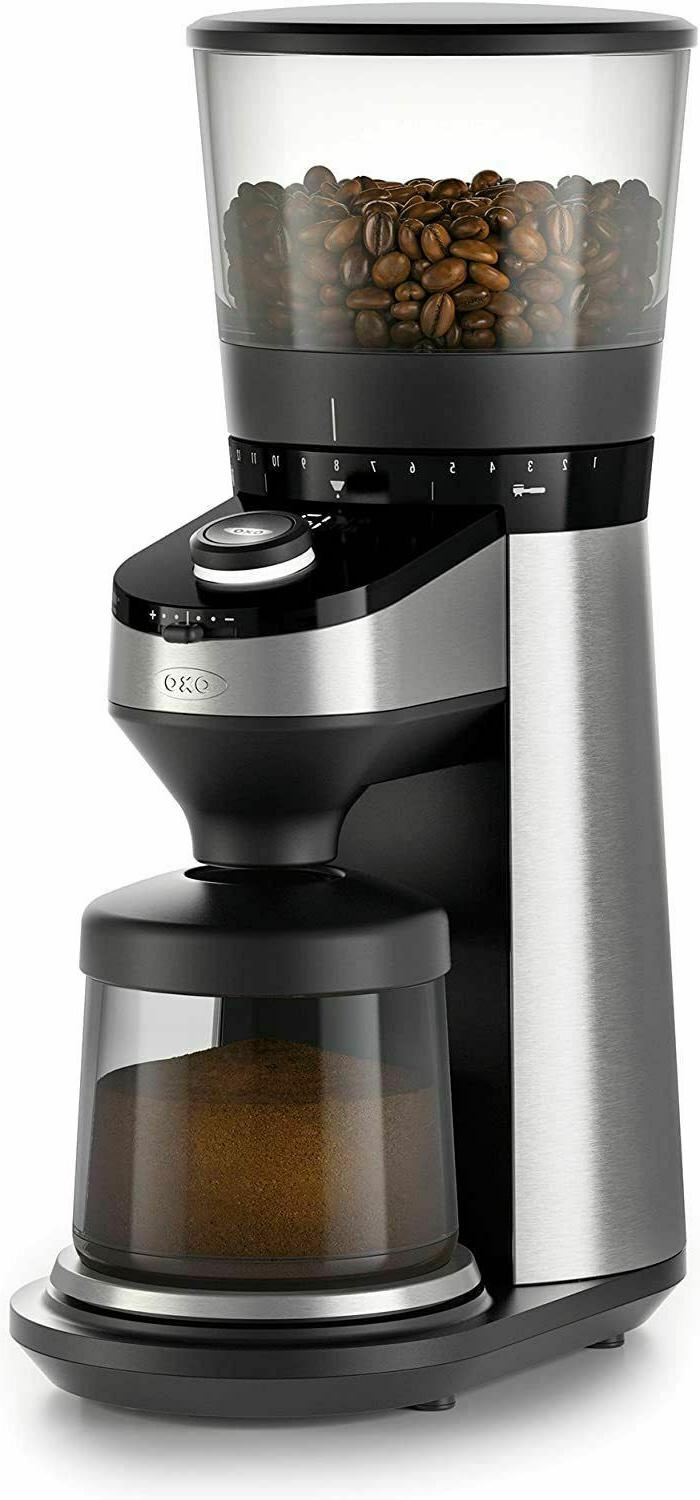 OXO On Conical Burr Coffee Grinder with Integrated Scale
