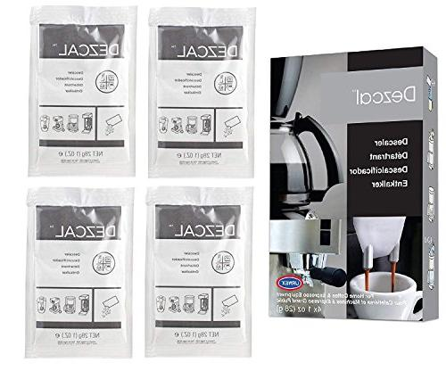 Urnex Dezcal Coffee - 3 Activated With Coffee Brewers Espresso Machines Pod Capsule Machines Kettles Garmet Steamers