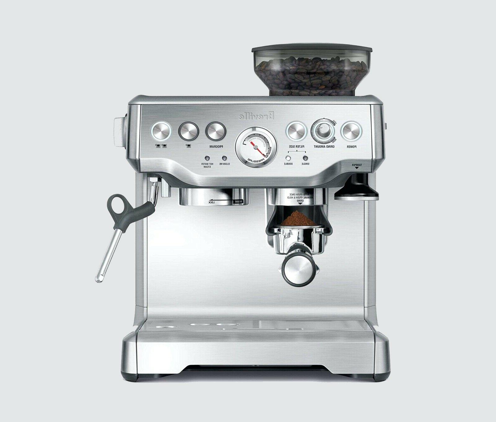barista express bes860xl 2 cups espresso machine