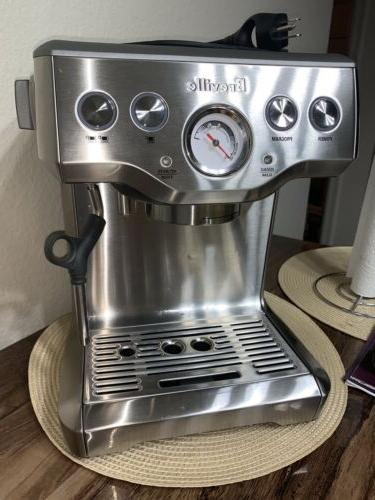 Breville BES840XL Espresso Machine, Brushed Stainless