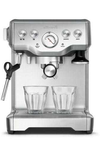 bes840xl infuser espresso machine brushed stainless steel