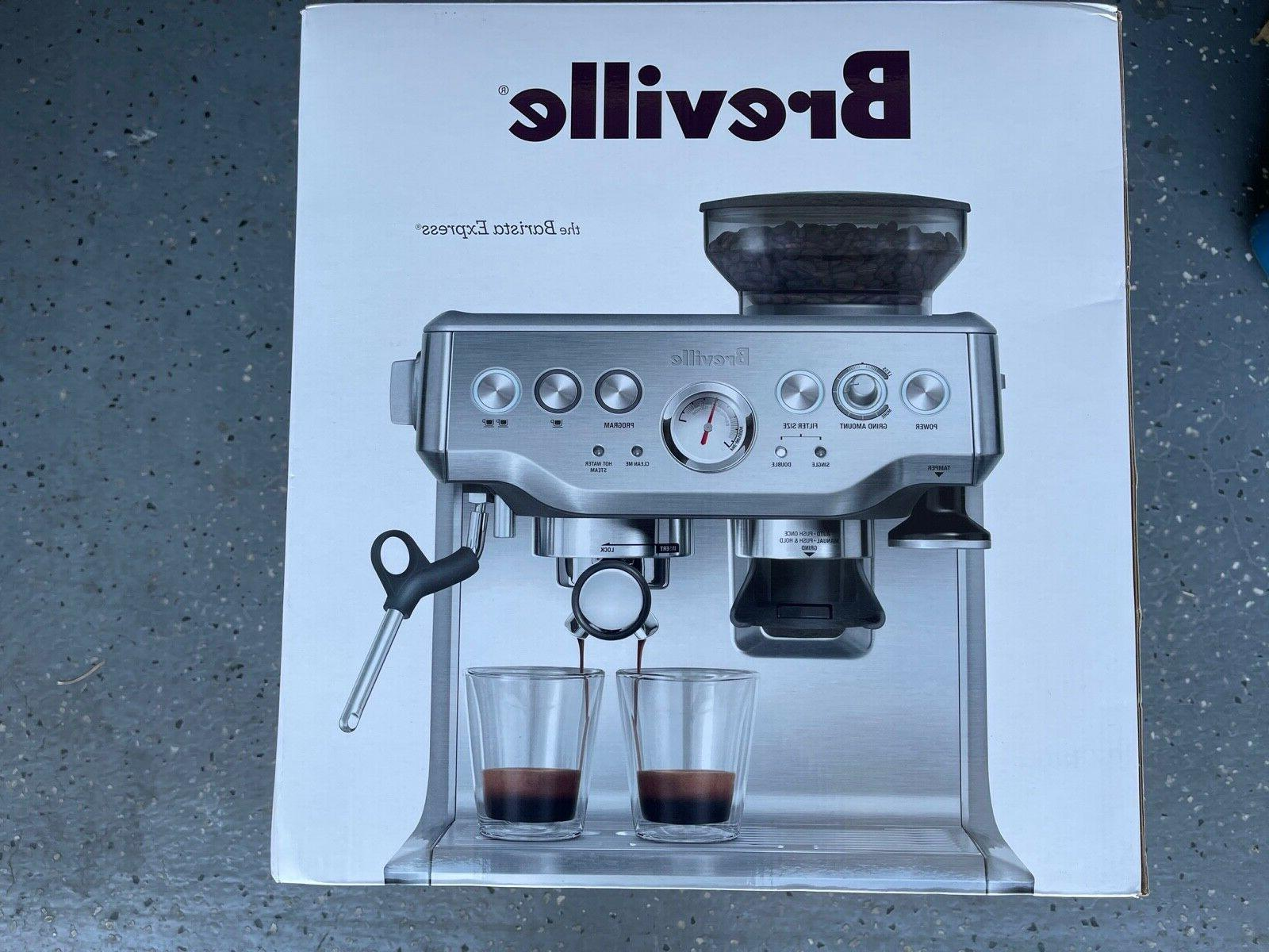 bes870xl barista express espresso machine large stainless