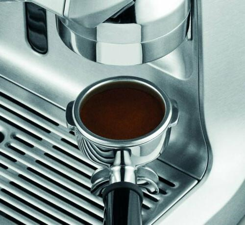 Breville Espresso Machine Brushed Steel