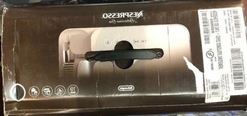 BRAND NEW Black DeLonghi Nespresso One Maker