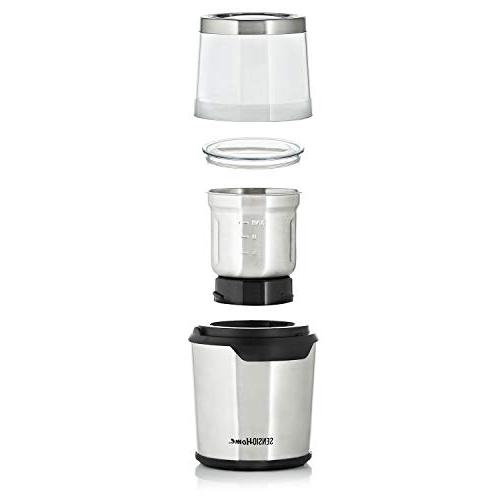 Sensio Home Coffee Grinder   Coffee Herb Spice Machine   2.8 Capacity for Wet and Food Watts