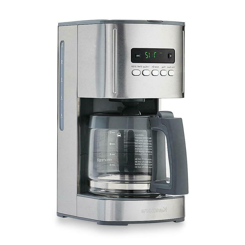 Kenmore Coffee Maker Machine 12 Cup Programmable Aroma Contr