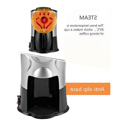 1Cup Coffee Maker Espresso Machine Quick Home