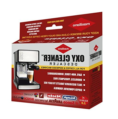 descaling solution coffee brewers oxi