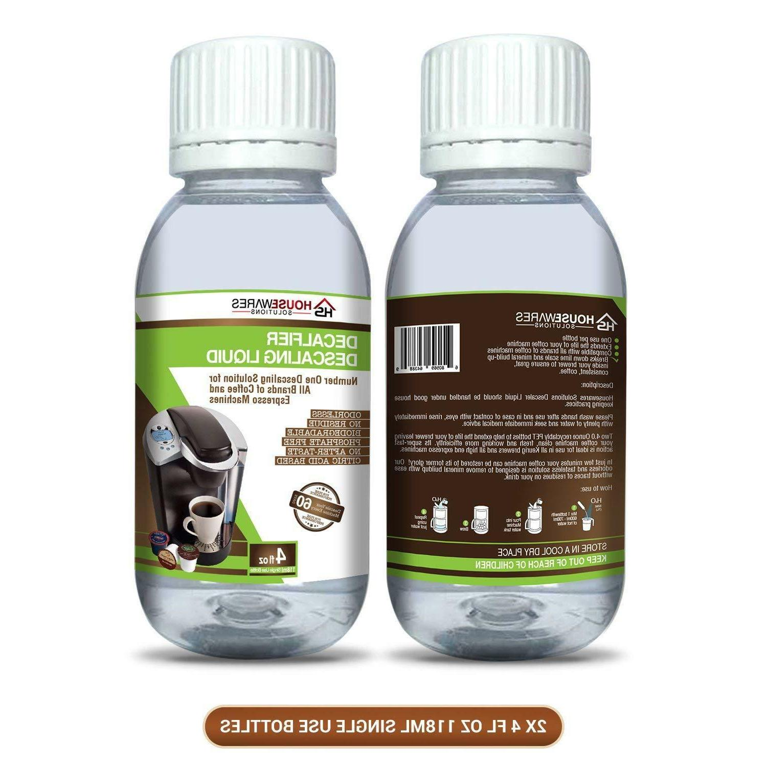 Descaling Solution for Brands and Espresso By