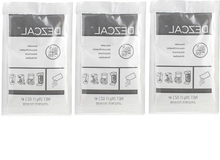 dezcal activated scale remover powder 3 pack
