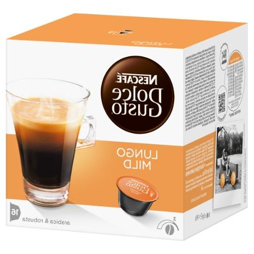 dolce gusto caffe lungo mild