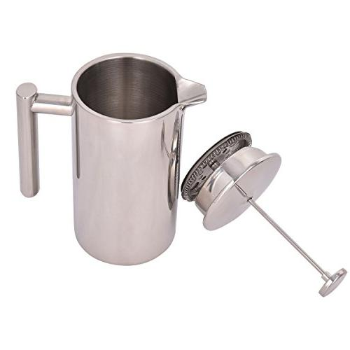 34 OZ Stainless Coffee 8-Cup French Coffee Press Maker