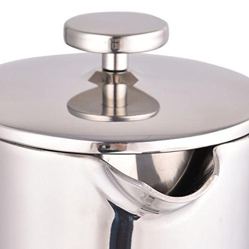 34 OZ Stainless 8-Cup Press Maker