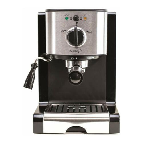 Capresso Pump Espresso Machine Coffee Grinder