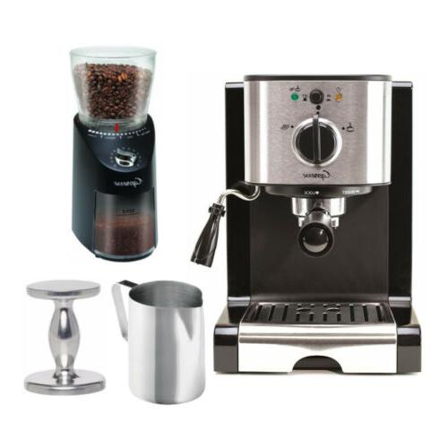 ec100 pump espresso machine with infinity plus