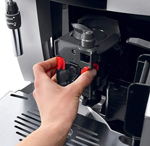 De'Longhi Magnifica Fully Automatic with Manual Silver