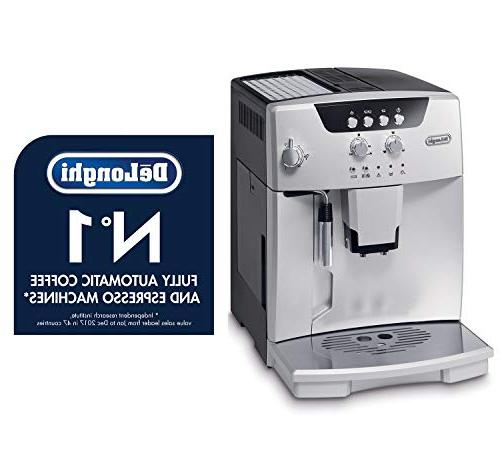 De'Longhi ESAM04110S Automatic with Manual System, Silver