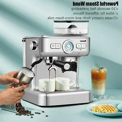 Espresso Coffee Frother And New