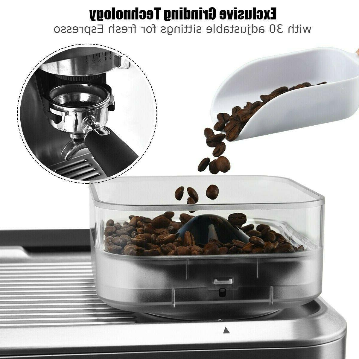 Espresso Coffee With Frother Cups New