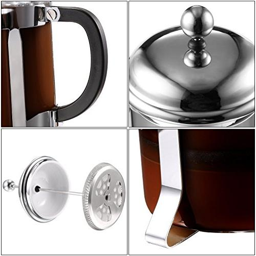 Cheesea French & Tea Espresso with and Stainless 8