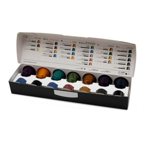 Nespresso Inissia Maker and Capsules Bundle