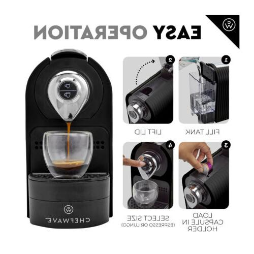 ChefWave for Nespresso Capsules + Pod +2 Cups