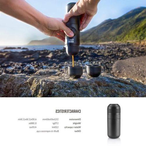 Wacaco Minipresso or GR Portable Espresso Machine