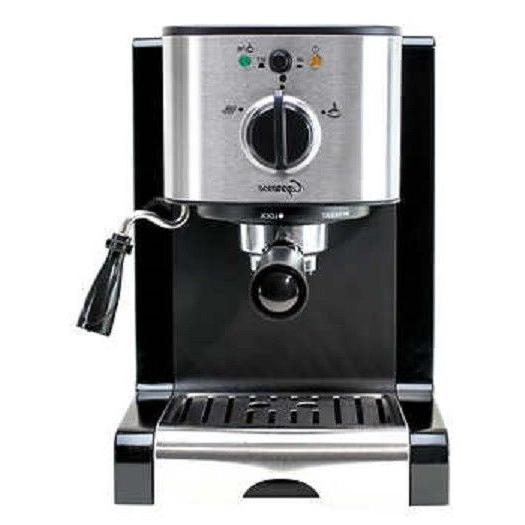 new ec100 espresso machine dual function frother