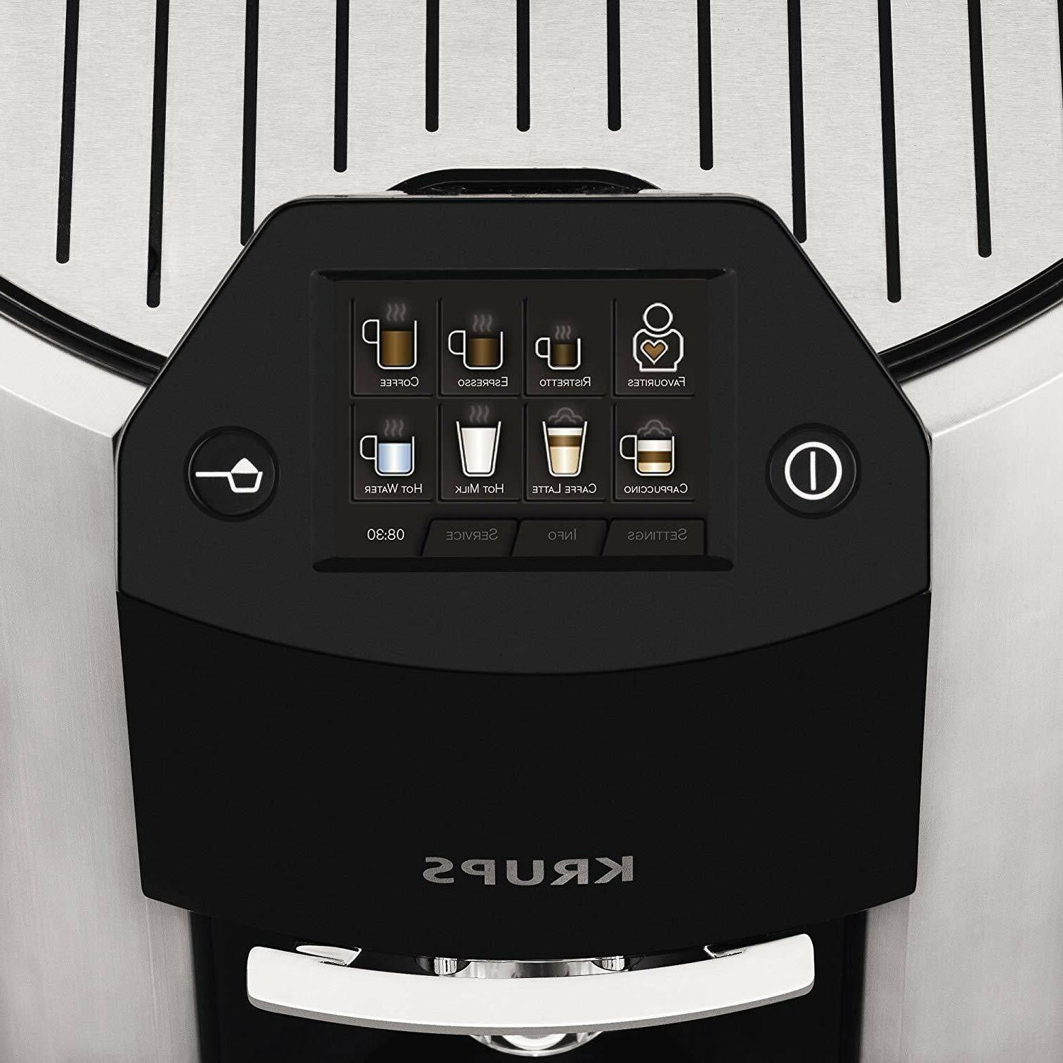 NEW Espresso Machine Automatic Cappuccino And Stainless