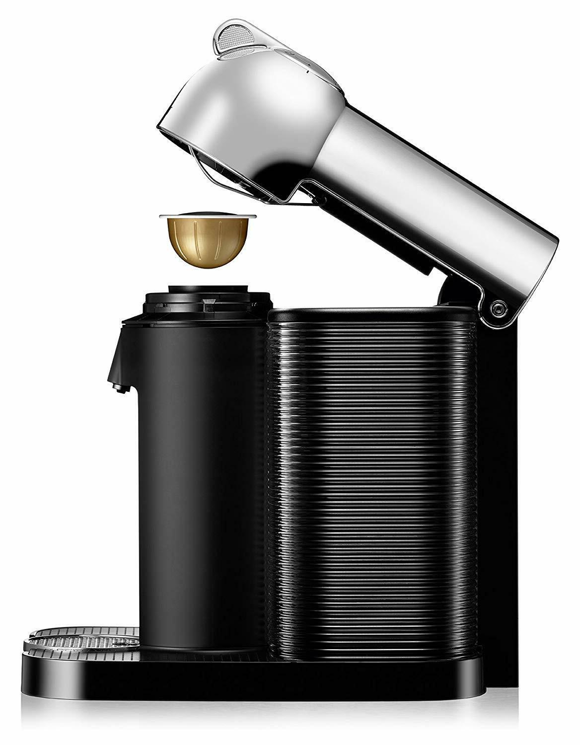 New Nespresso Coffee and Machine by Breville Chrome