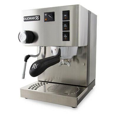 new silvia single boiler stainless steel espresso