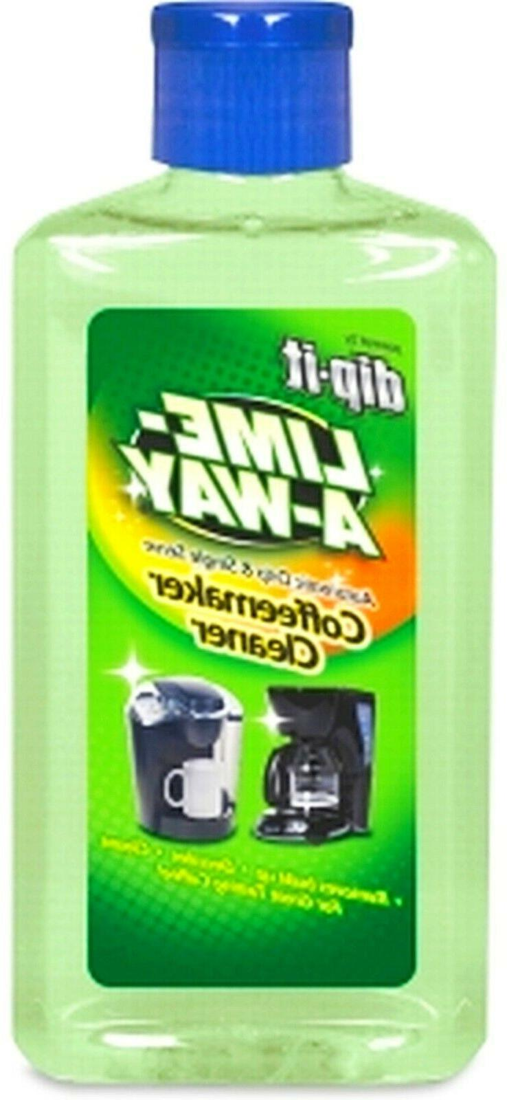 LIME-A-WAY powered by dip-it Clean COFFEEMAKER Machine Liqui