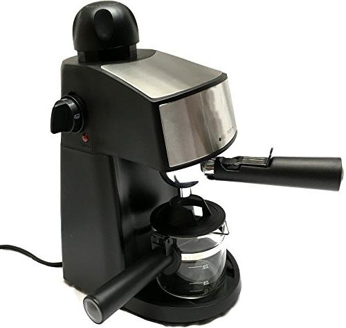 Powerful steam and Cappuccino Maker Machine