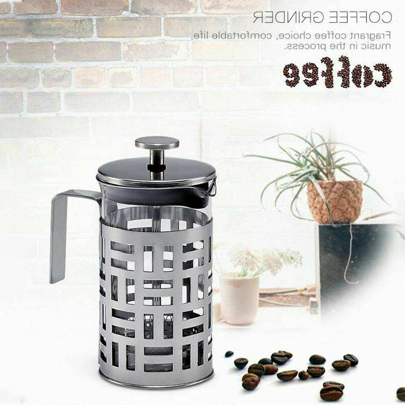 Presses Maker Stainless Steel Filter Coffee Machine