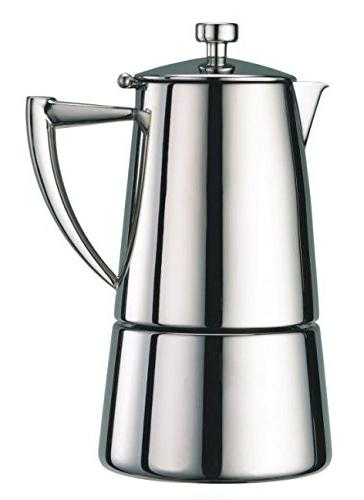Cuisinox Roma Stainless Steel Espresso Maker