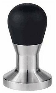 Rattleware Stainless Steel Tamper with Tall Handle - 57mm