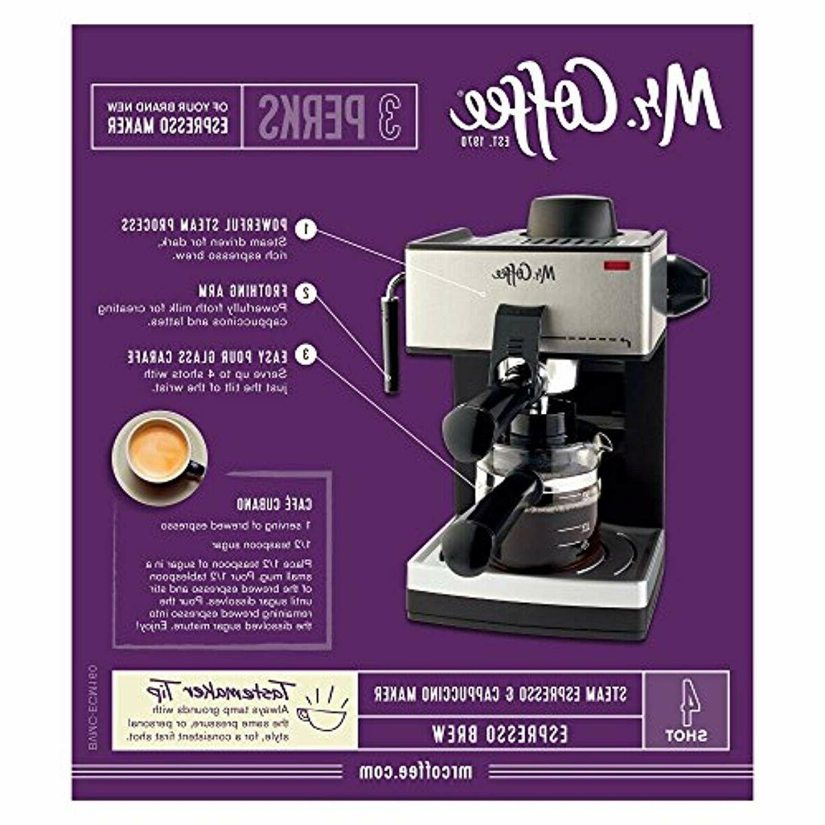 Home Espresso Machine Expresso Steam Frothing NEW